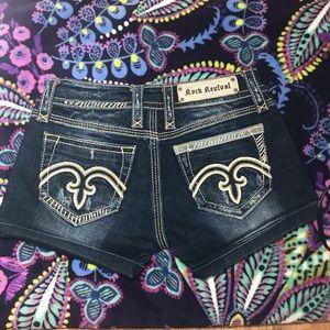 Rock Revival Jean Shorts Women SIZE 27